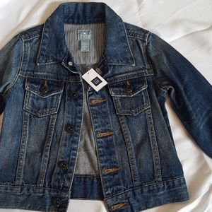 NWT Baby Gap 2T boy  unisex jeans jackets